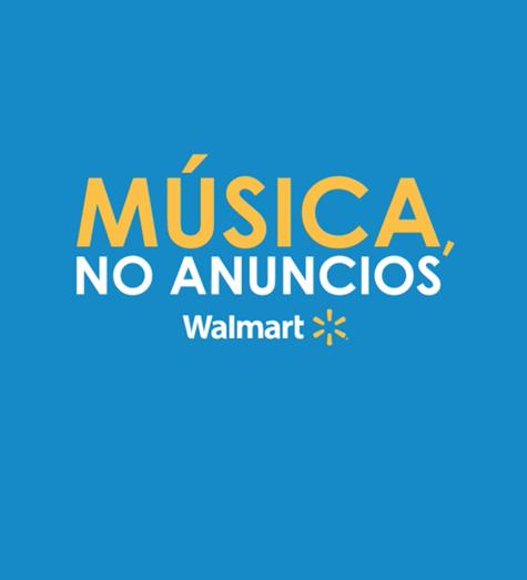 Música, no anuncios